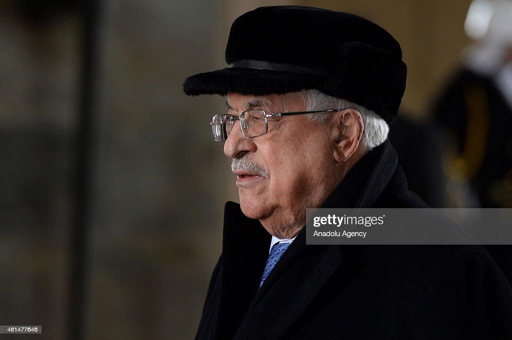 Palestinian President Mahmoud Abbas visits Ankara
