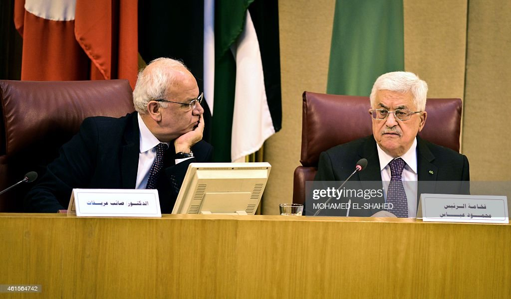 EGYPT-PALESTINIAN-CONFLICT-ARAB-DIPLOMACY : News Photo