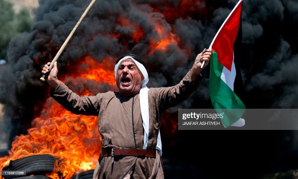 PALESTINIAN-ISRAEL-CONFLICT : Photo d'actualité