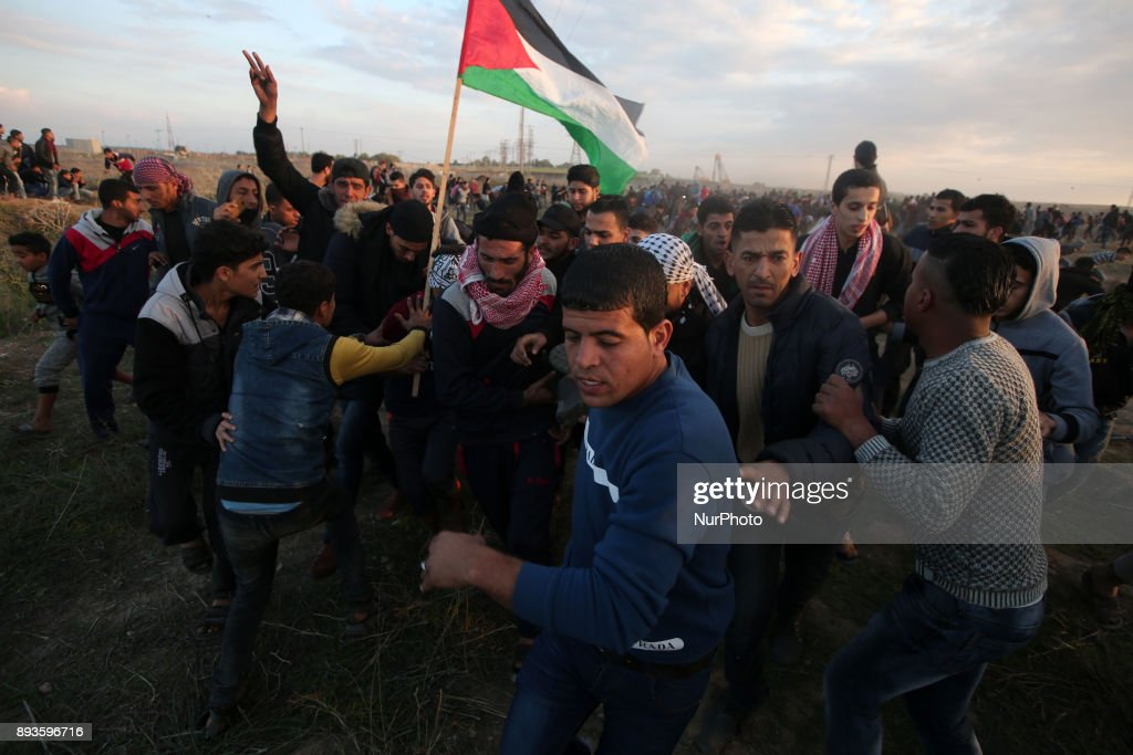 Protest continues in Gaza against US decision to recognize Jerusalem as Israel's capital