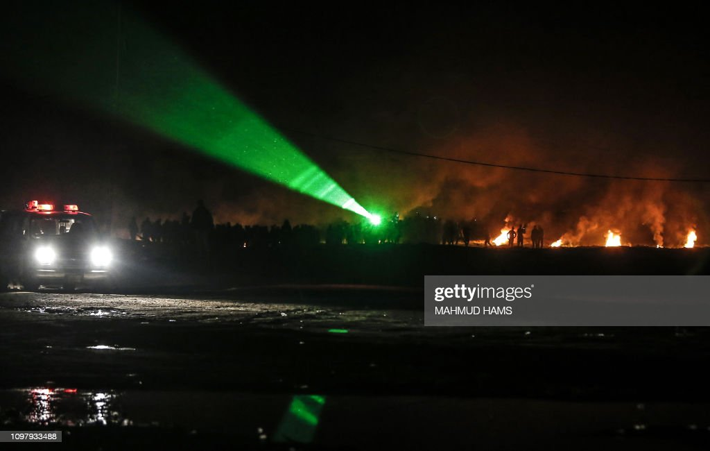 PALESTINIAN-ISRAEL-GAZA-UNREST : News Photo