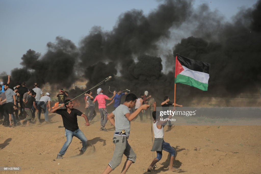 Clashes In Gaza