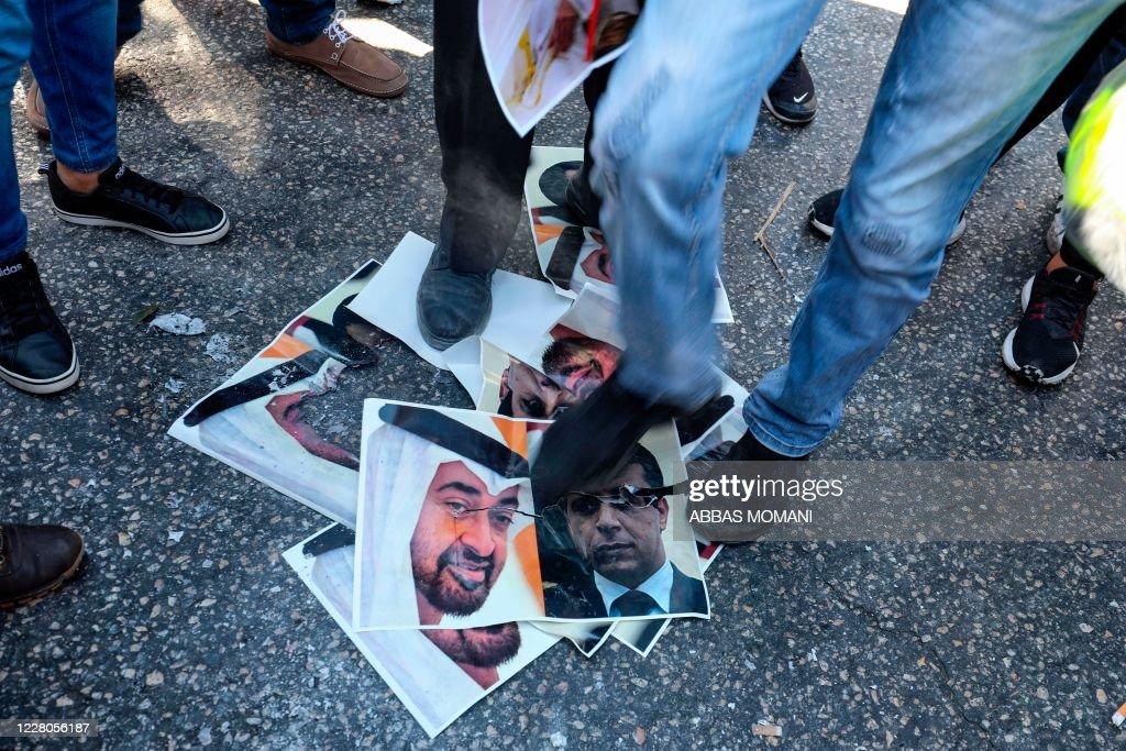 PALESTINIAN-ISRAEL-CONFLICT-UAE : News Photo
