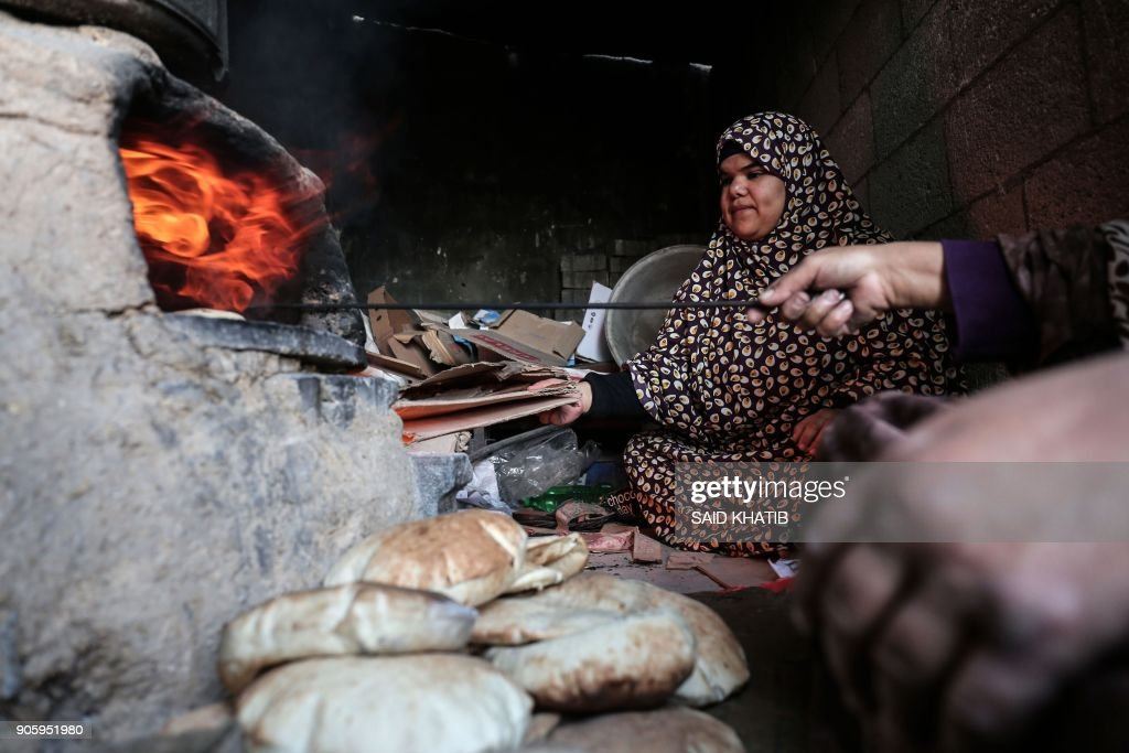 PALESTINIAN-CONFLICT-US-UNRWA : News Photo