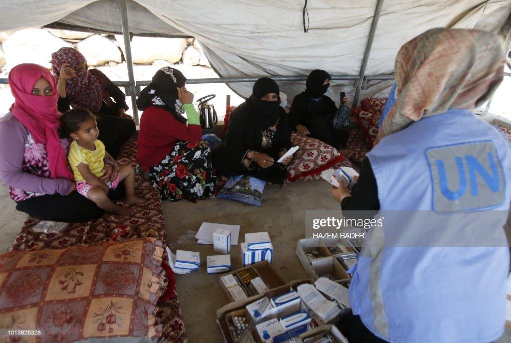PALESTINIAN-ISRAEL-CONFLICT-UNRWA : News Photo