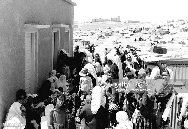 Palestinian refugees during the Arab Israeli war of 1948