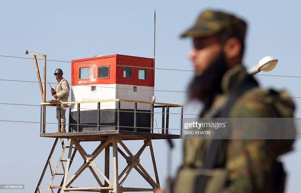 PALESTINIAN-EGYPT-GAZA-CONFLICT : News Photo
