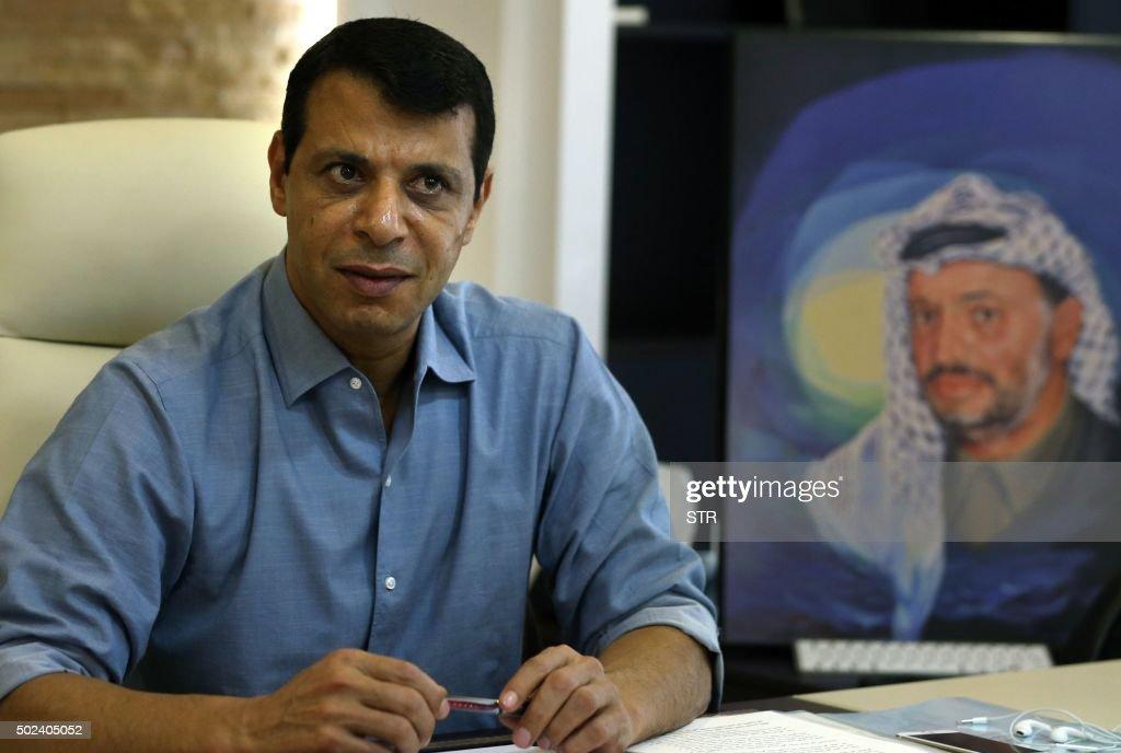 UAE-PALESTINIAN-POLTICIS-DAHLAN : Nieuwsfoto's