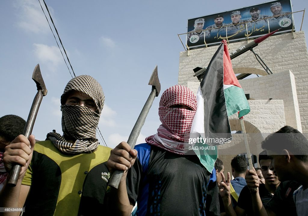 PALESTINIAN-ISRAEL-CONFLICT-GAZA-PROTEST : News Photo