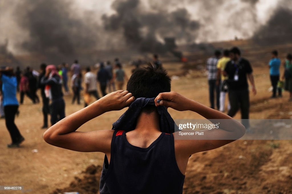 Tensions In Gaza Remain High After Continuous Border Clashes With Israel : News Photo