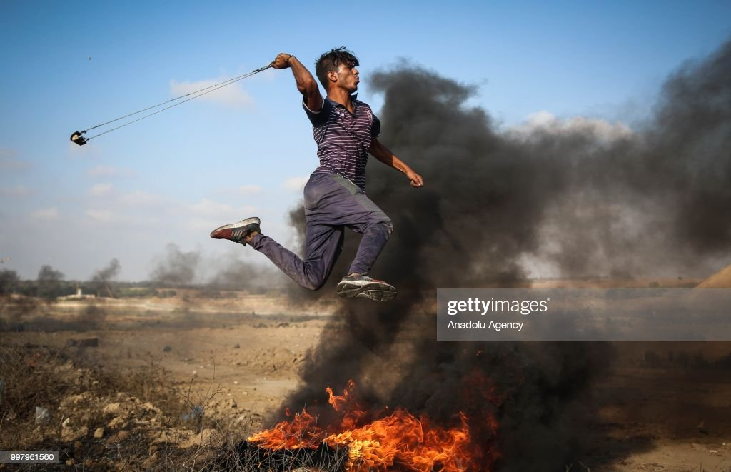 """Great March of Return"" demonstrations in Gaza : News Photo"