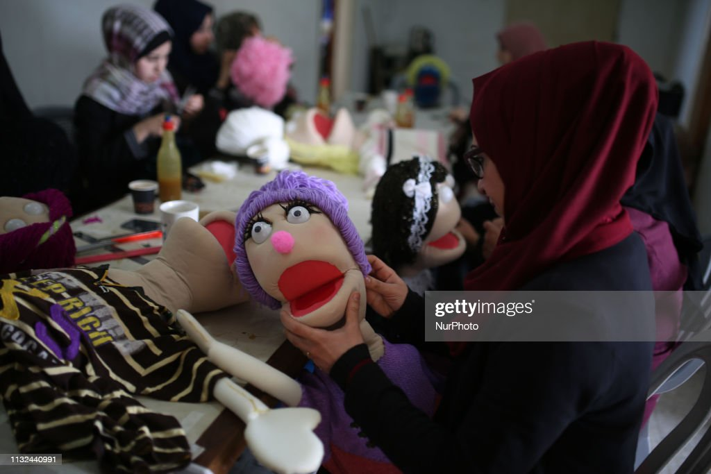GZA: Puppets Workshop In Gaza