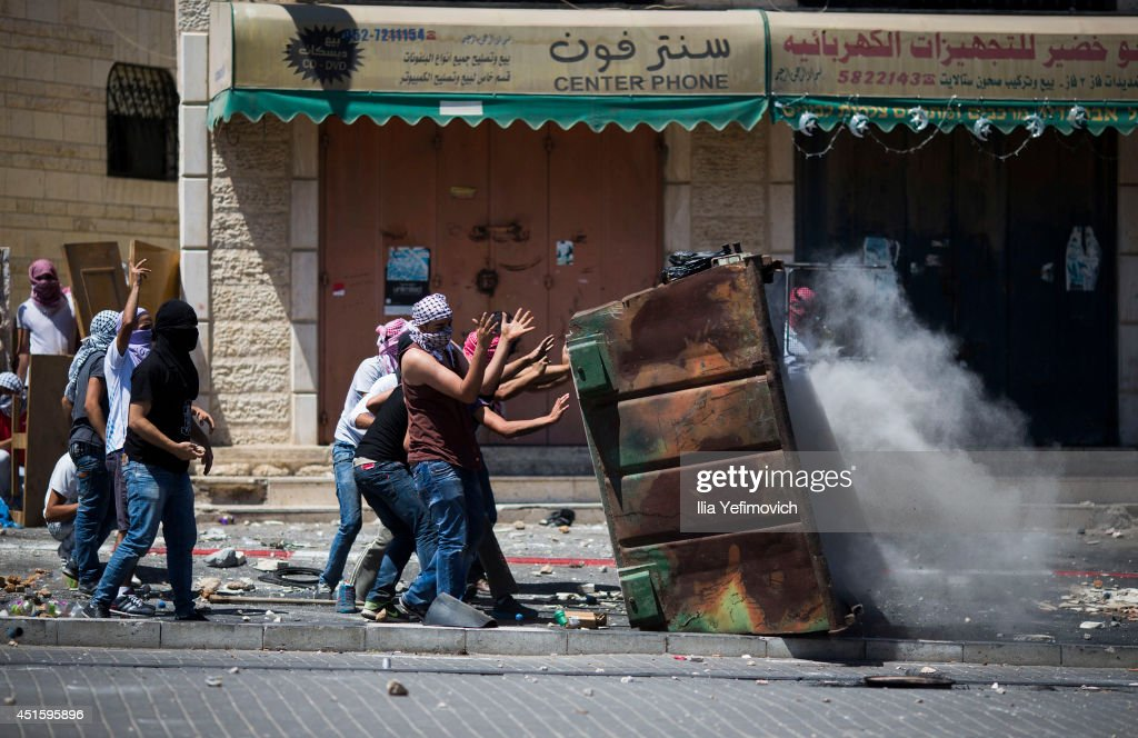 Clashes In East Jerusalem As Palestinian Teenager Reported Murdered : News Photo