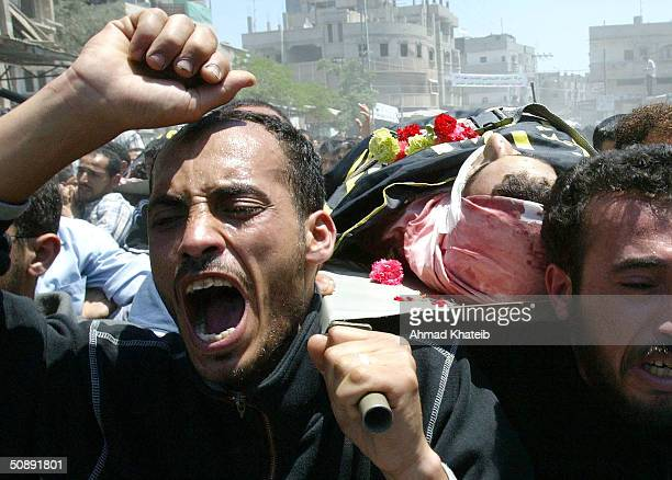 Palestinians Attend Funerals Of Israeli Operation Rainbow Victims In Rafah