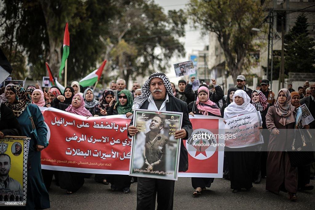 Palestinian Prisoners' Day : News Photo