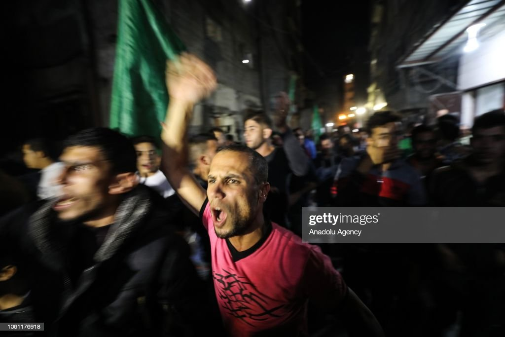 Demonstration in support of Palestinian resistance in Gaza : News Photo