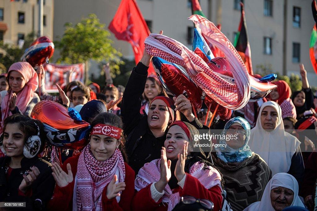 49th anniversary of foundation of PFLP : News Photo
