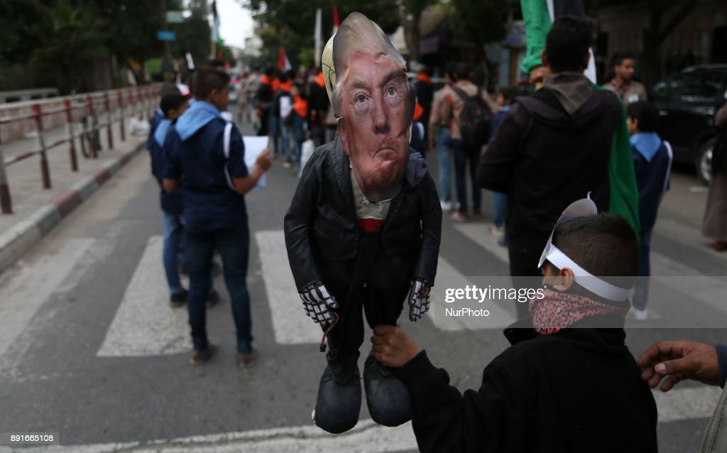 Protests against US President's decision to recognize Jerusalem as capital of Israel