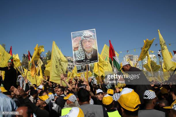 Palestinians have turned out in the streets of Gaza City to commemorate the death of Yasser Arafat The longstanding Palestinian leader and Fatah...