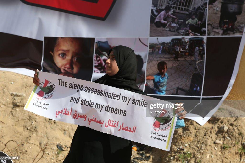 Protest against Israeli blockade on Gaza strip