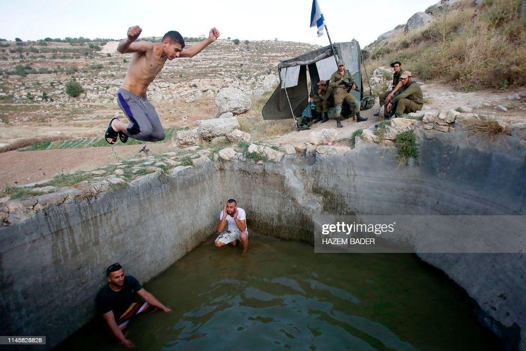 PALESTINIAN-ISRAEL-CONFLICT-HEAT : Foto di attualità