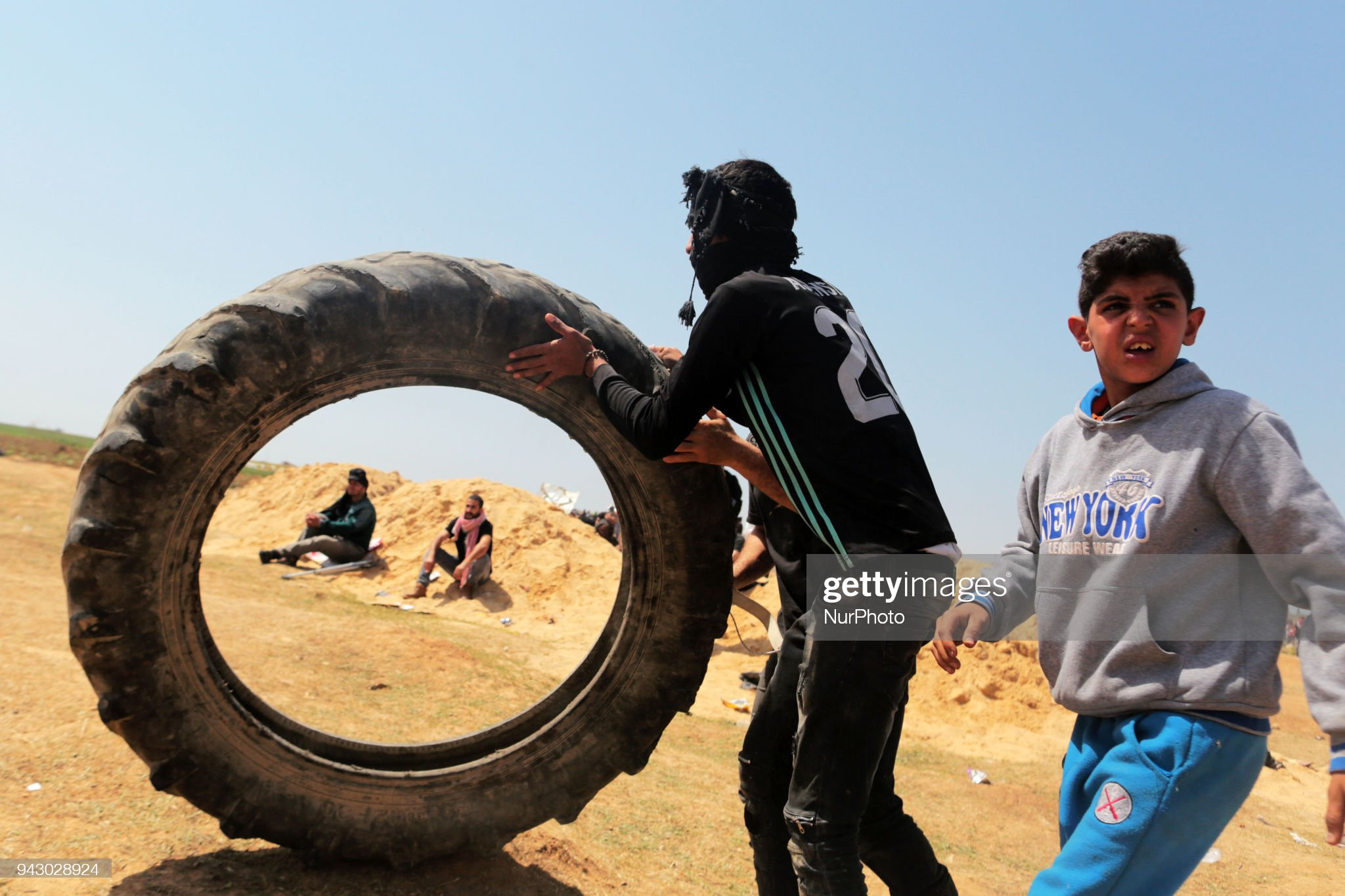 Palestine-Israel conflict : News Photo