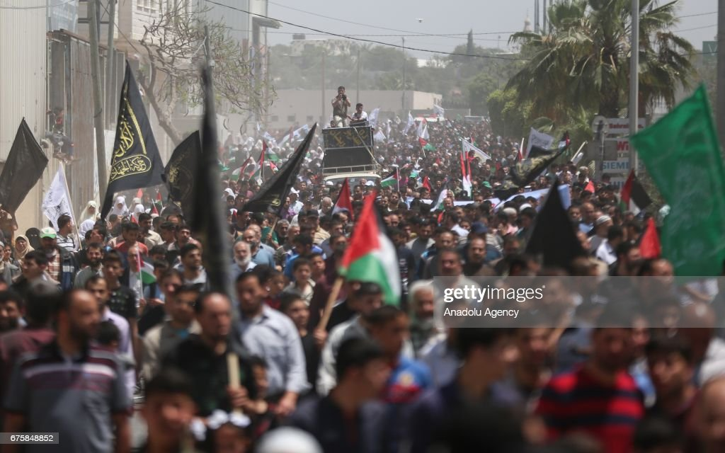 Protest in Gaza : News Photo