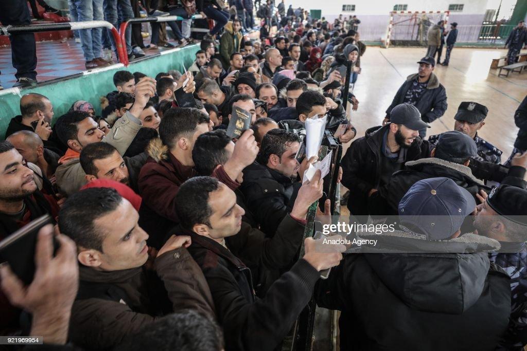 Egypt reopens Rafah border crossing  : News Photo