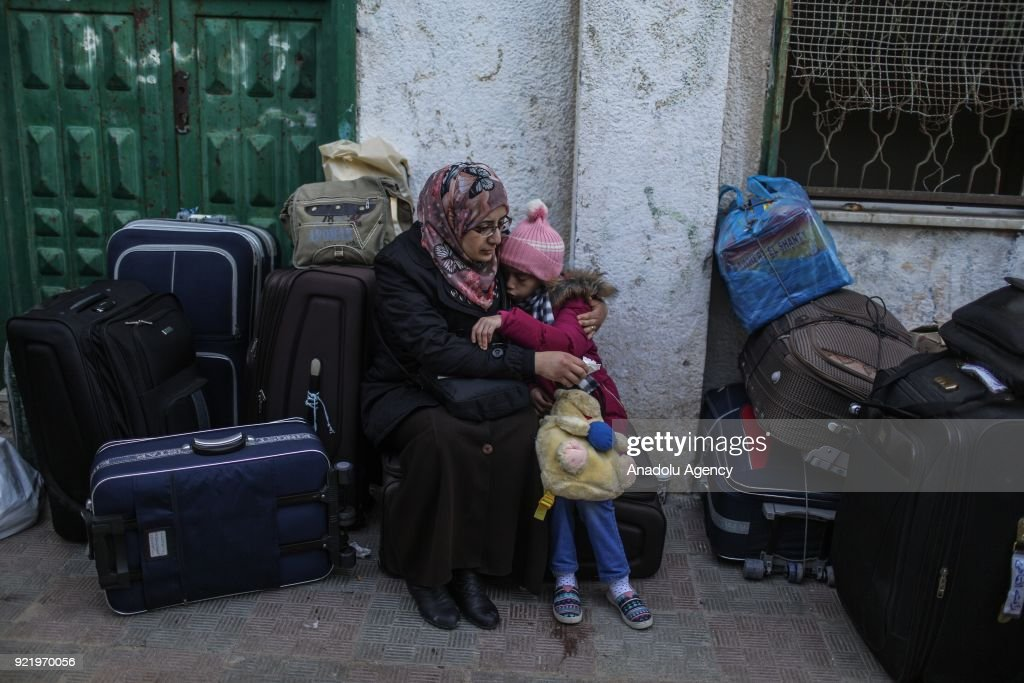 Egypt reopens Rafah border crossing  : News Photo