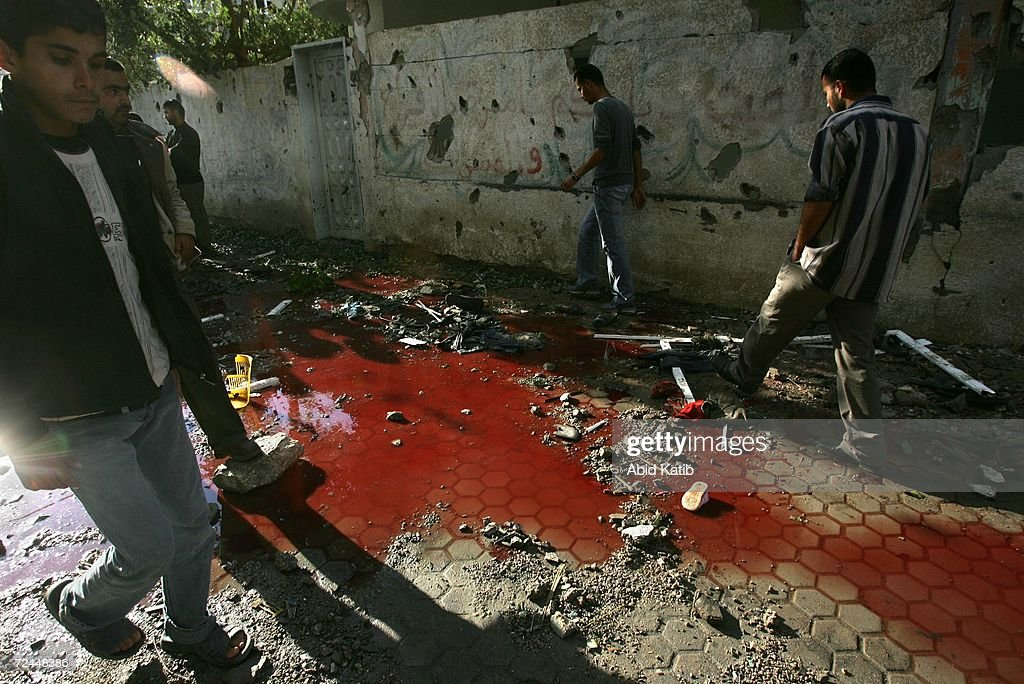 Image result for 2006 shelling of Beit Hanoun