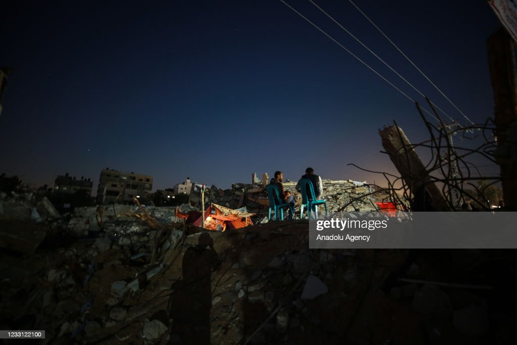 Aftermath of cease-fire in Gaza : Nieuwsfoto's
