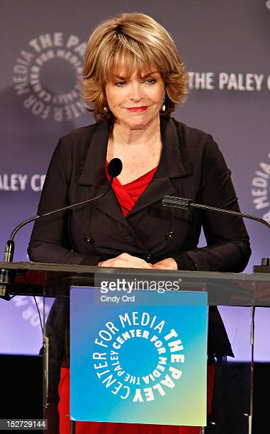 Paley Center for Media President CEO Pat Mitchell introduces Sonny Fox Forty Years In Television A Conversation With Whoopi Goldberg at The Paley...