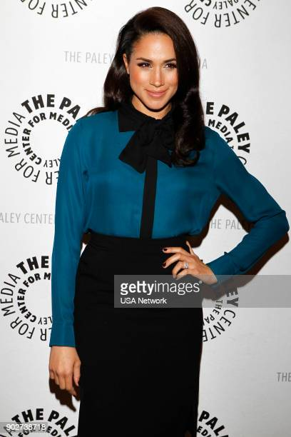 SUITS Paley Center Panel and Screening Pictured Meghan Markle