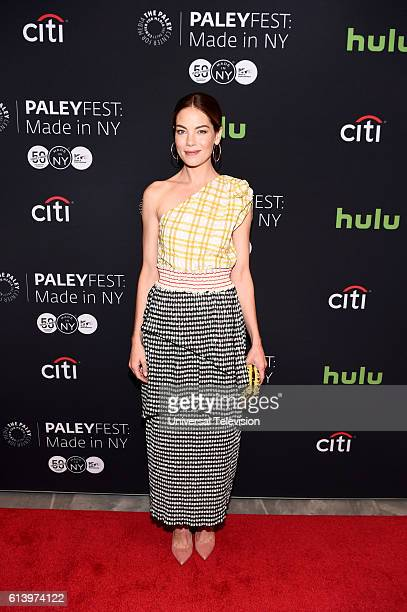 THE PATH 'Paleyfest Made in NY' Pictured Michelle Monaghan at The Paley Center for Media's Paleyfest Made in NY on Sunday October 9 2016 in New York