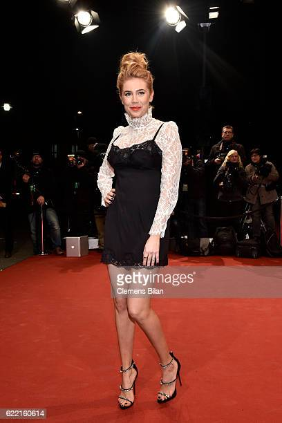 Palina Rojinski arrives at the GQ Men of the year Award 2016 at Komische Oper on November 10 2016 in Berlin Germany