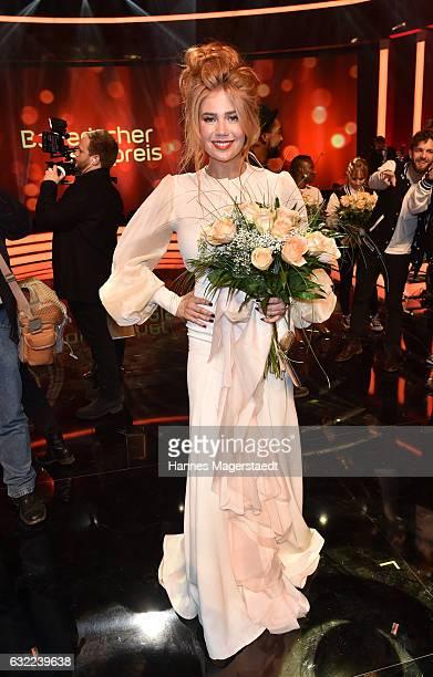 Palina Rojinski attend the Bayerischer Filmpreis 2017 at Prinzregententheater on January 20 2017 in Munich Germany