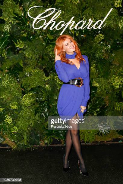 Palina Rojinski attend the Chopard Night of Green Emotions on November 9 2018 in Berlin Germany