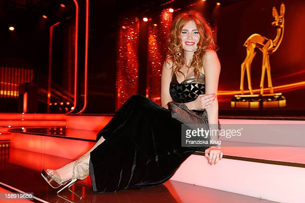 Palina Rojinski attends the 'BAMBI Awards 2012' at the Stadthalle Duesseldorf on November 22, 2012 in Duesseldorf, Germany.