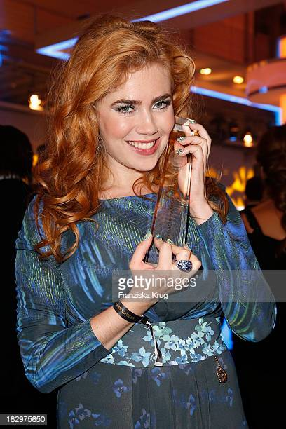 Palina Rojinski attends the Deutscher Fernsehpreis 2013 After Show Party at Coloneum on October 02 2013 in Cologne Germany