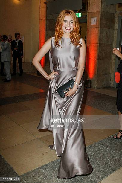 Palina Rojinski attends the German Film Award 2015 Lola at Messe Berlin on June 19 2015 in Berlin Germany