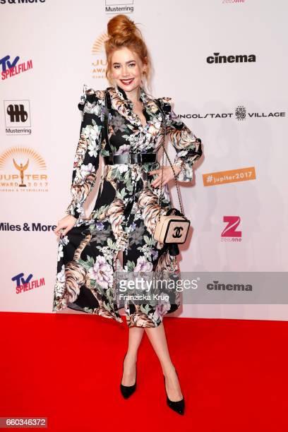 Palina Rojinski attends the Jupiter Award at Cafe Moskau on March 29 2017 in Berlin Germany