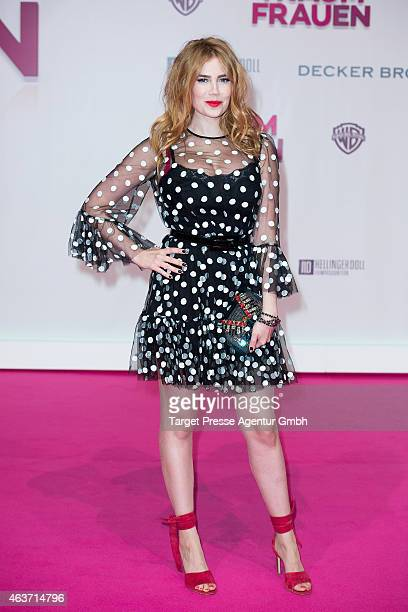 Palina Rojinski attends the 'Traumfrauen' premiere at CineStar on February 17 2015 in Berlin Germany