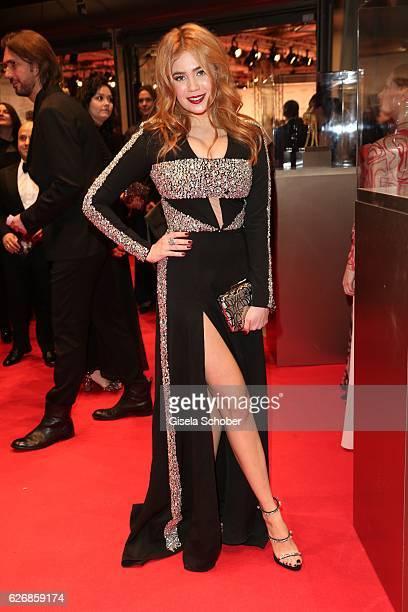 Palina Rojinski during the Bambi Awards 2016 arrivals at Stage Theater on November 17 2016 in Berlin Germany