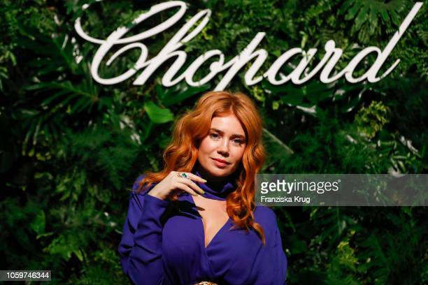 Palina Rojinski during the Chopard Night of Green Emotions on November 9 2018 in Berlin Germany