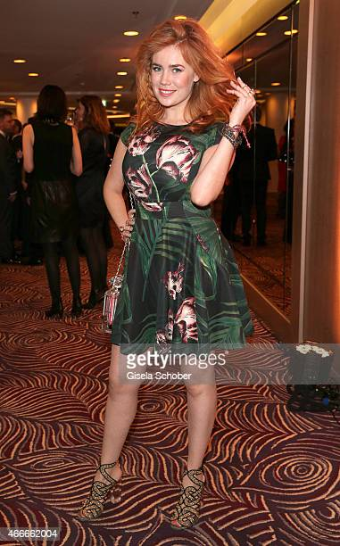 Palina Rojinski during the PEOPLE Magazine Germany launch party at Waldorf Astoria on March 17 2015 in Berlin Germany