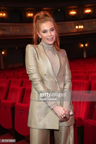 Palina Rojinski during the show of the GQ Men of the year Award 2017 at Komische Oper on November 9 2017 in Berlin Germany