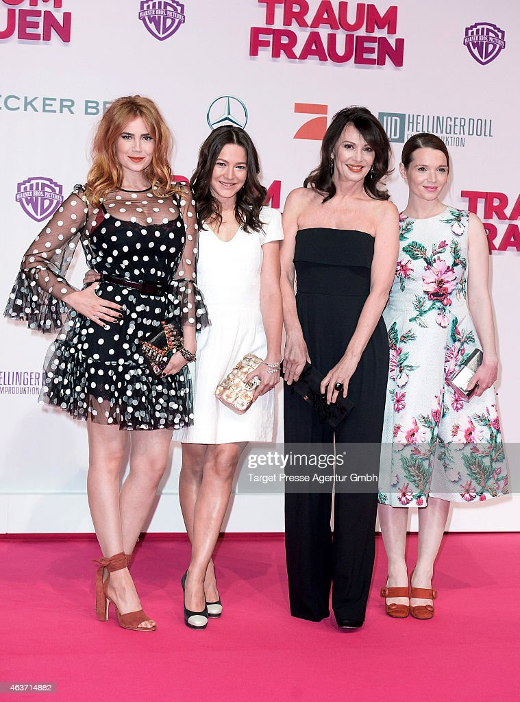 Herfurth Gmbh traumfrauen premiere in berlin photos and images getty images