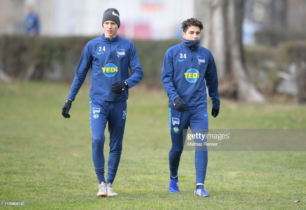 DEU: Hertha BSC - training session