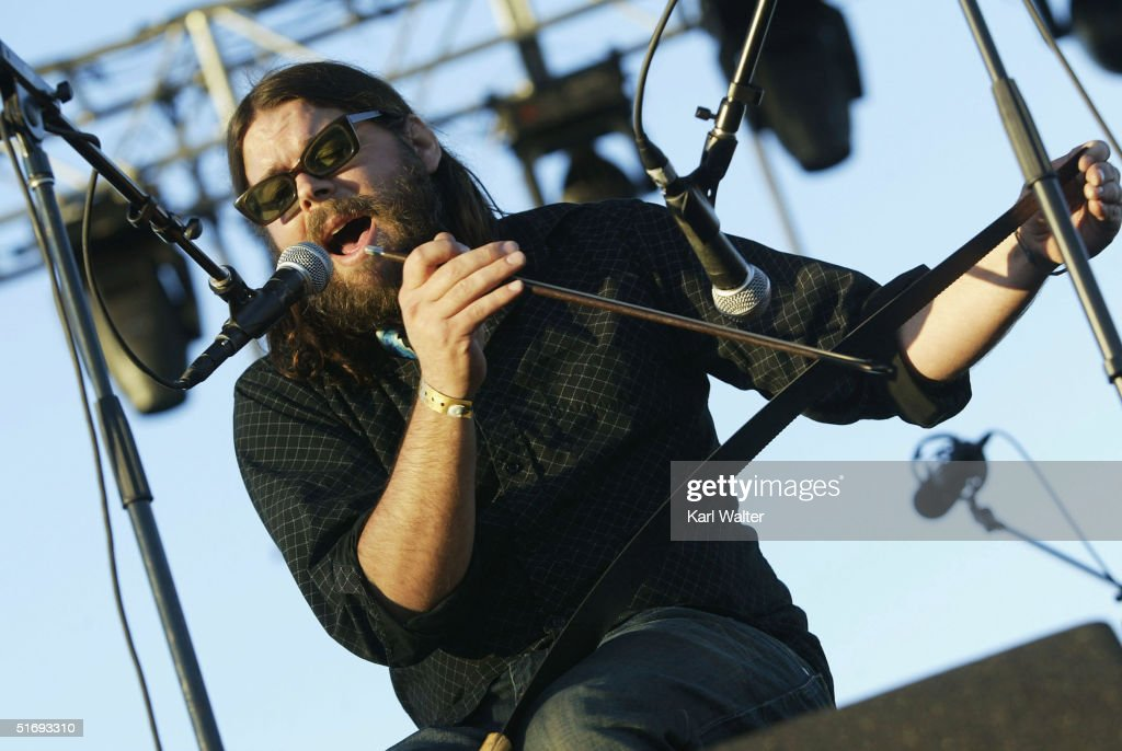 Pall Jenkins of the the Black Heart Procession performs at All Tomorrow's Parties at the Queen Mary on November 6, 2004 in Los Angeles, California. The two day music festival was curated by Modest Mouse.