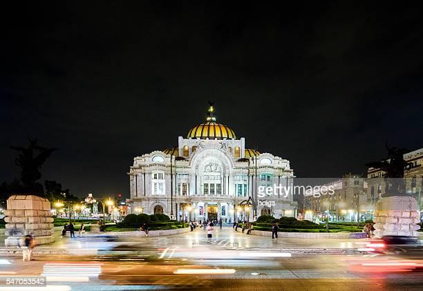 Pallacio de Bellas Artes in Mexico City